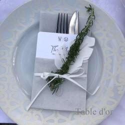 ホワイトディナー2017 お皿