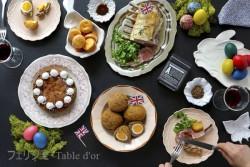 イギリス1 イースターテーブル ブログ