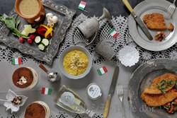 イタリア1 ミラノ風北イタリアテーブル ブログ