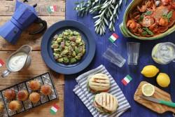 イタリア2 ナポリ風南イタリアテーブル ブログ