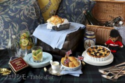 イギリス2 夏の夕方のピクニック ブログ